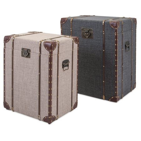 Imax Ty Outer Banks Storage Trunks   Set Of 2
