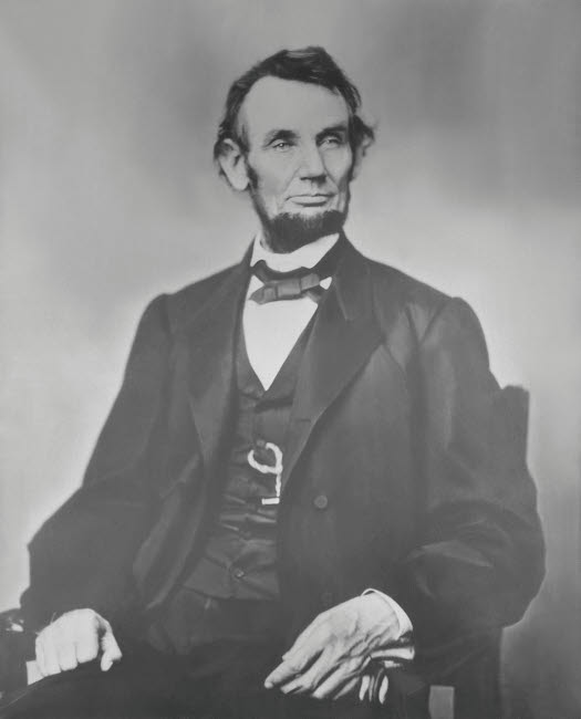 graphic about Printable Pictures of Abraham Lincoln known as Portrait of President Abraham Lincoln Poster Print as a result of Stocktrek Shots