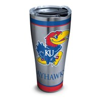 NCAA Kansas Jayhawks Tradition 30 oz Stainless Steel Tumbler with lid
