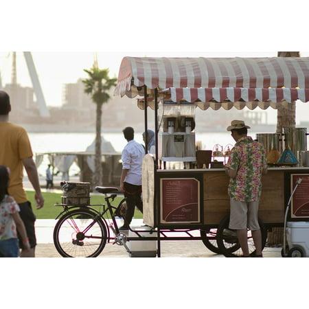 Canvas Print Beach Emirates Marina Dubai Travel Arab City Stretched Canvas 10 x 14 - Party City Marina