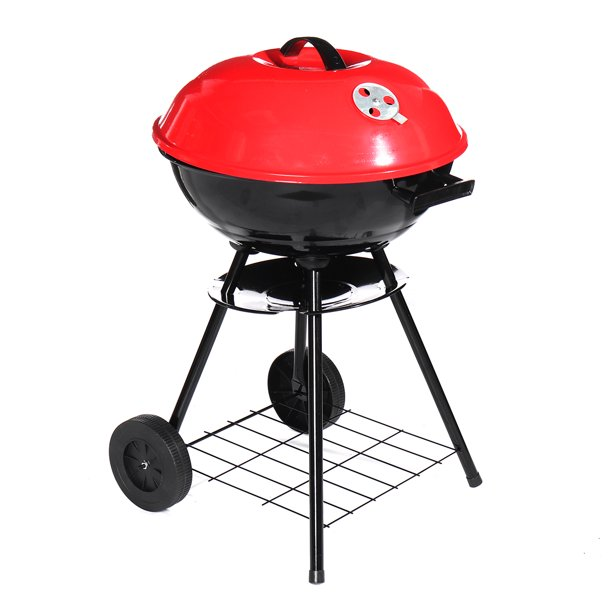 17x28inch Portable Kettle Charcoal Grill BBQ Outdoor ...