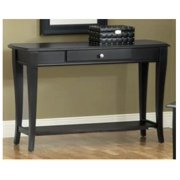 Broadway Matte Black Sofa Table