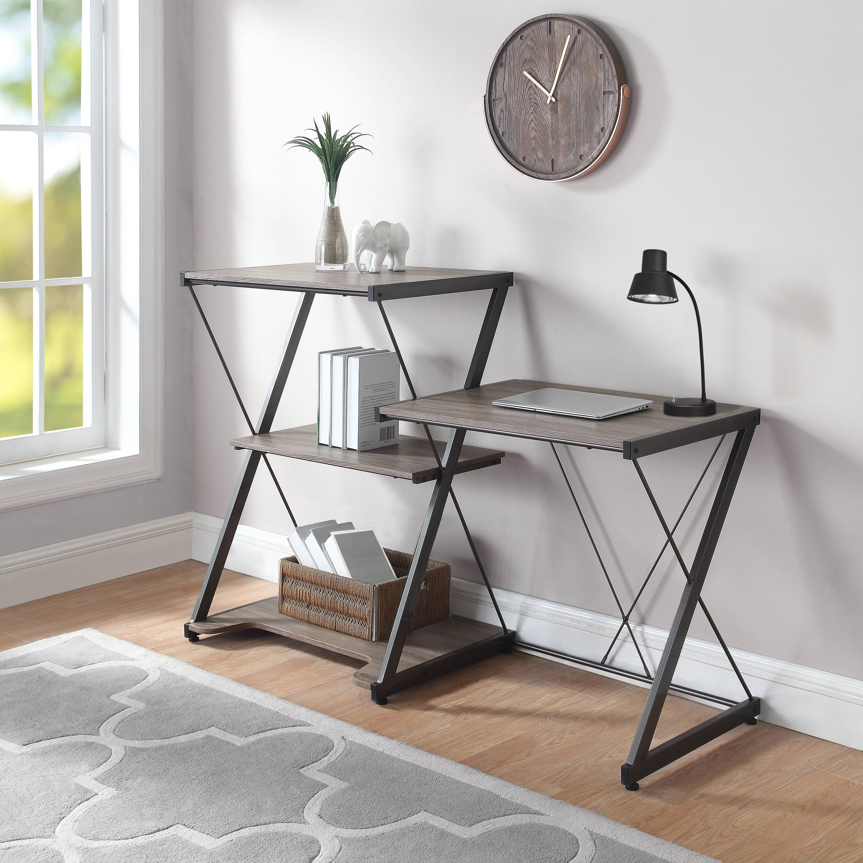 Mainstays Sit Stand Desk, Multiple Colors