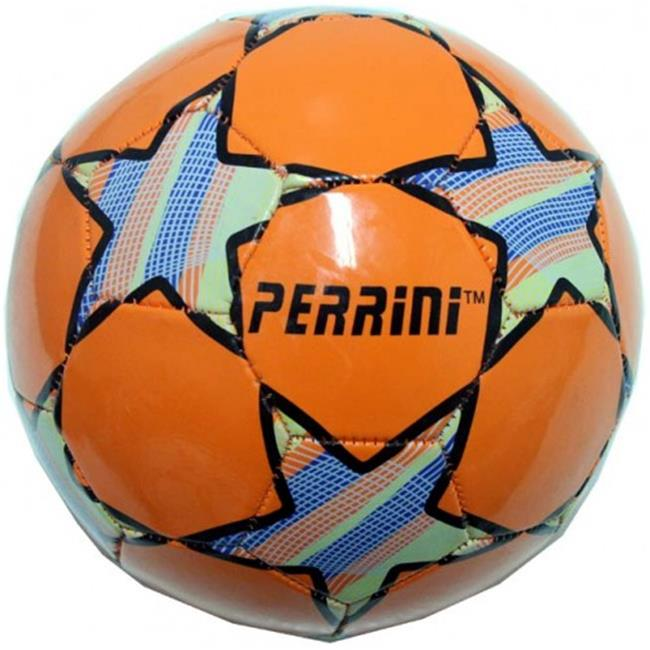 7148 Indoor Outdoor Orange Color Soccer Ball Size 5 by Shelter
