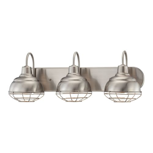 Bathroom Light Fixtures Damp Location millennium lighting 3 light bathroom light 5423 - walmart