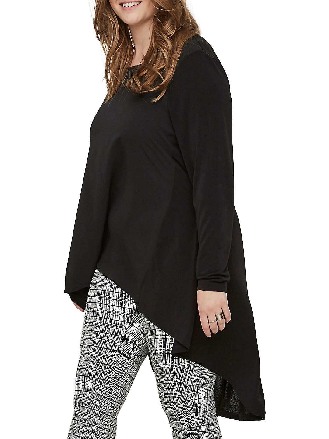 Plus 518 Piber Long-Sleeve Top