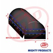 Mighty Products AMT-CT18-B060606 6 x 6 x 6 ft. Truck Tarp - Coil Tarp, Heavy Duty, Industrial Grade