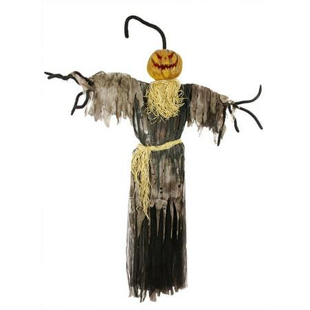 Northlight Seasonal Frightening LED Jack-o'-Lantern Hanging Halloween Decoration