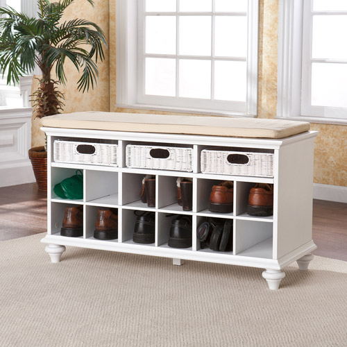 Carrabelle Entryway Bench - Walmart.com | title