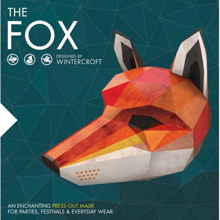 The Fox : An Enchanting Press-Out Mask for Parties, Festivals & Everyday Wear](Hay Day Halloween Fish)
