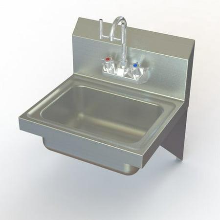 Aero Manufacturing NSF Eye Wash Stainless Steel Hand Sink