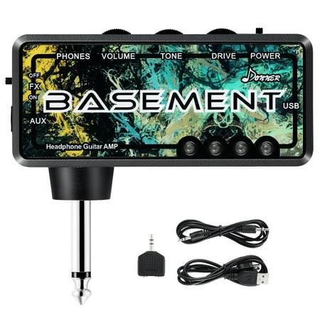 High Quality Basement Pocket FX WAHDonner Bass Guitar Headphone Amp Rechargeable Mini Practice (Best Bass Practice Amp 2019)