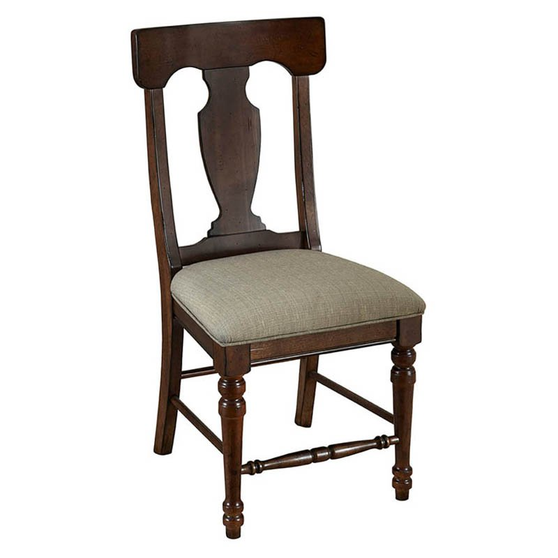 A-America Andover T-Back Upholstered Side Chairs - Set of 2