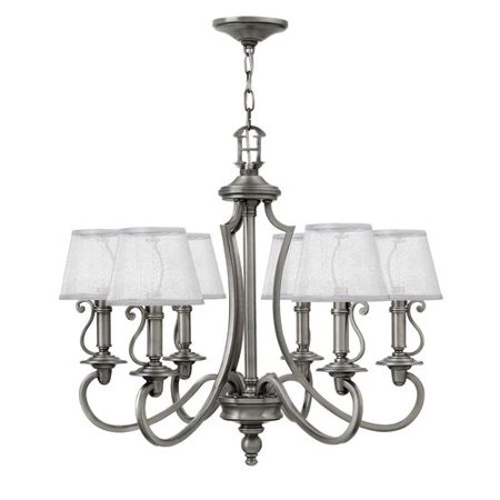 Hinkley Lighting 4246 6 Light 27 75 Width 1 Tier Candle Style Chandelier From The