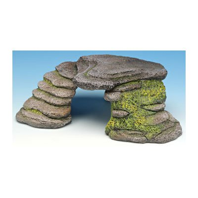 Penn Plax The Reptology Terrarium Hide-Outs - Shale Step Cave - Small