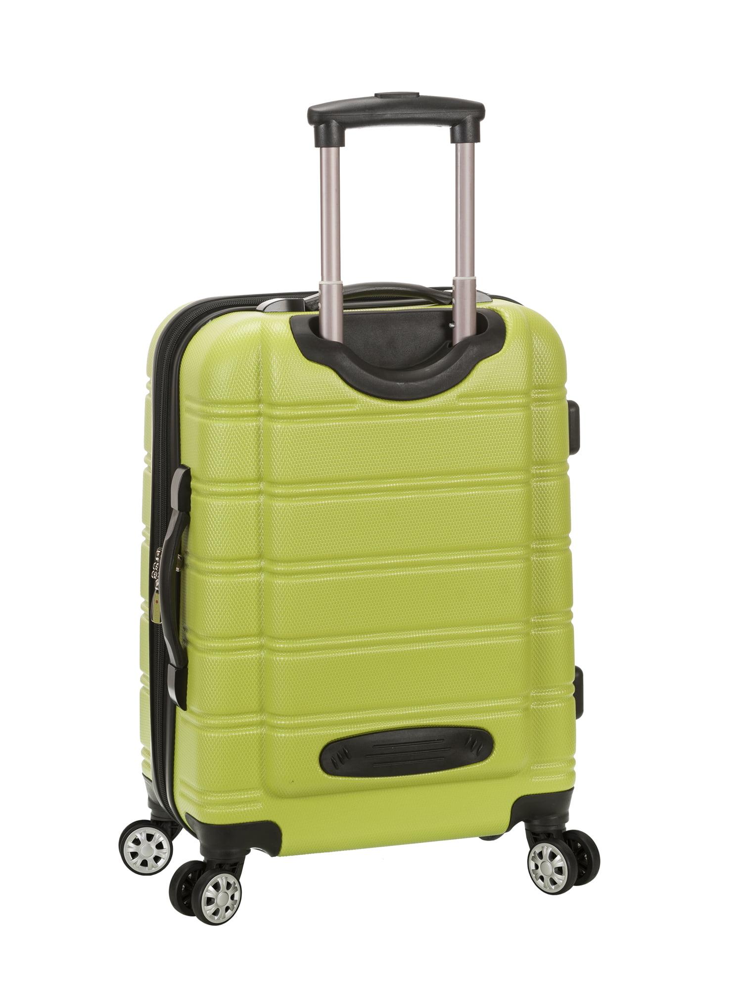 Rockland Melbourne 3 Piece Hardside Luggage Set - Walmart.com