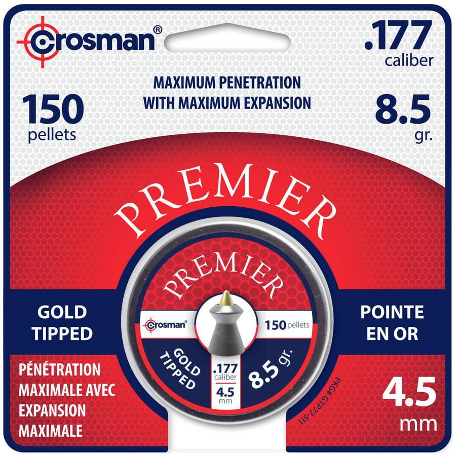Crosman Premier Goldtip Point .177 Caliber Mag Pellets 8.5gr by Crosman