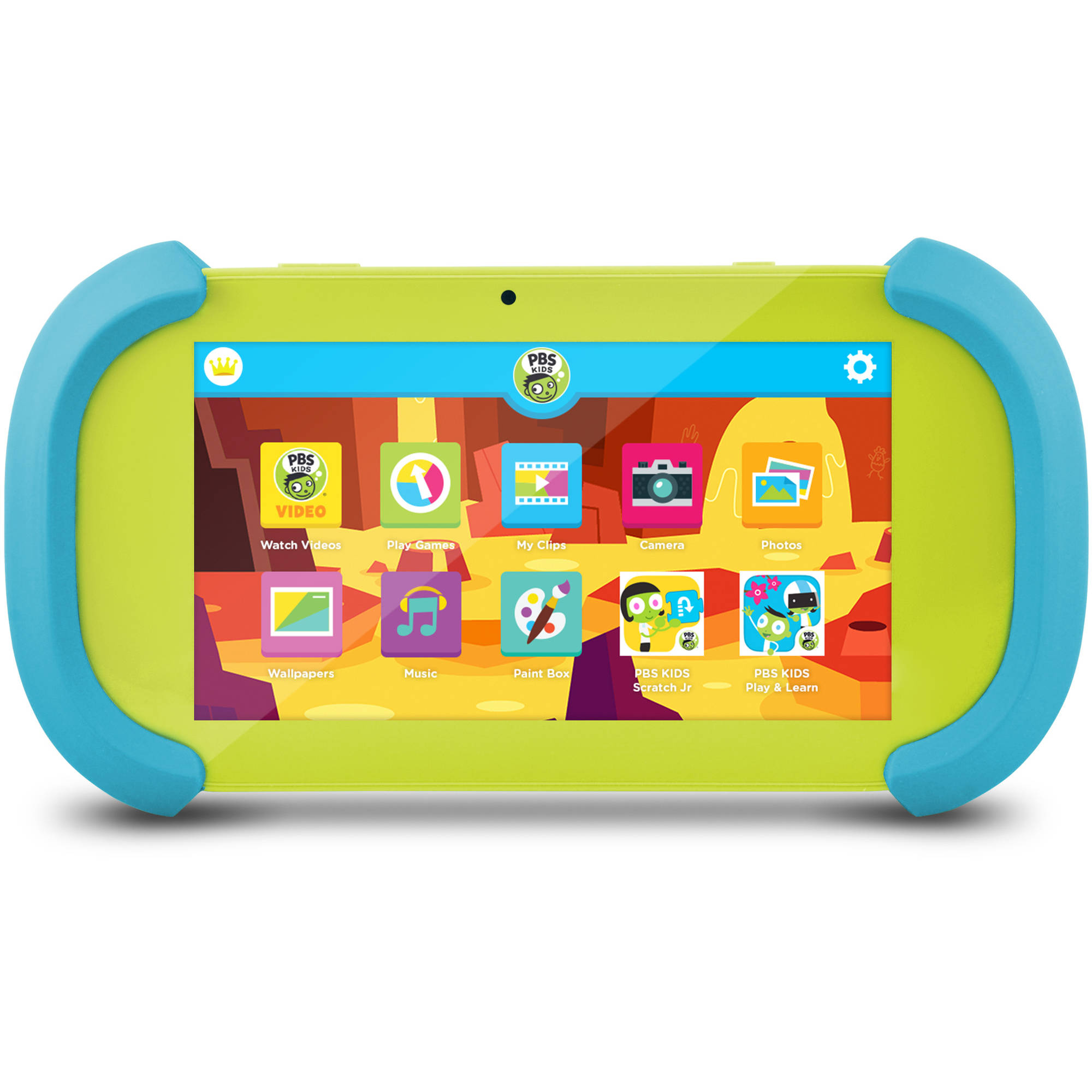 "PBS KIDS Playtime Pad 7"" 16GB Tablet Android 6.0 (Marshmallow)"