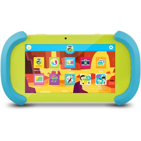PBS KIDS 7u0022 HD Educational Playtime Kid-Safe Tablet with Android 6.0 (PBSKD12)