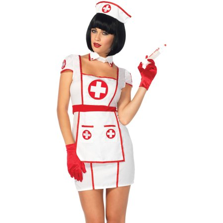 Leg Avenue Adult Hospital Heartbreaker 3-Piece Costume