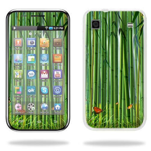 Mightyskins Protective Vinyl Skin Decal Cover for Samsung Galaxy Player 4.0 MP3 Player wrap sticker skins Bamboo