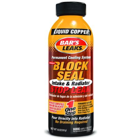 Bars Leaks Block Seal Liquid Copper Walmart