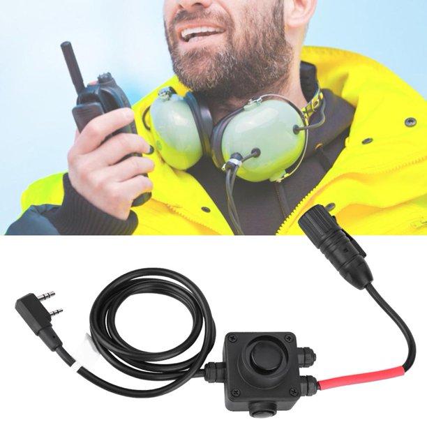 Ccdes Ptt Push To Talk Adapter For Z Tac Series Military Radios Earphone Headphone Z134 Ken Headphone Push To Talk Adapter Headphone Ptt Adapter Walmart Com Walmart Com