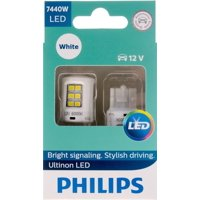 Philips Ultinon LED 7440WLED, W3X16D, Plastic, Always Change In Pairs!