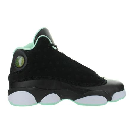 fe3ab86a9c9b Nike - Kids Air Jordan Retro 13 XIII GS Mint Foam Black Metallic Gold White  4 - Walmart.com