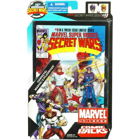 Marvel 25th Anniversary Comic 2pk - Hawkeye & Pile Driver ()