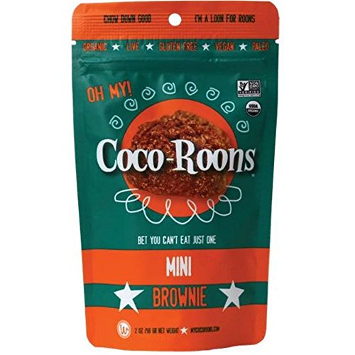 Wonderfully Raw Cocoroon Mini Brownie 2 OZ (Pack of 12)
