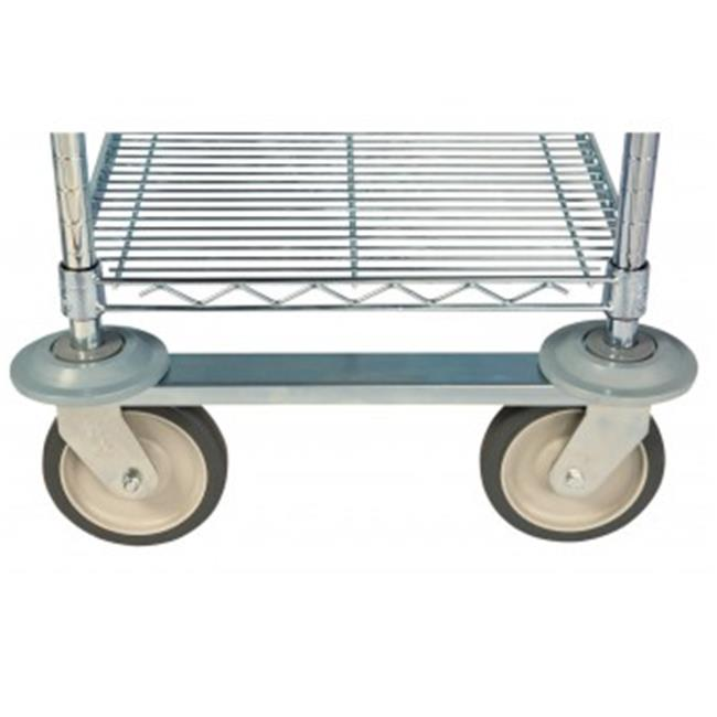 Focus Foodservice FTST3 3 ft.  Track Set, Durable 304 Stainless Steel