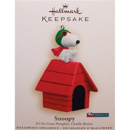 Hallmark 2006 Snoopy It's the Great Pumpkin Charlie Brown Halloween