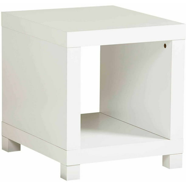 Better Homes and Gardens Accent Table, White