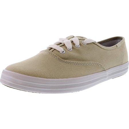 f802f8de6152a Keds - Keds Women s Champion Originals Stone Ankle-High Fabric Flat Shoe -  10M - Walmart.com
