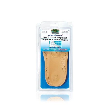 Moneysworth & Best PharmaSole 3/4 Leather Orthotic Soft Arch Support