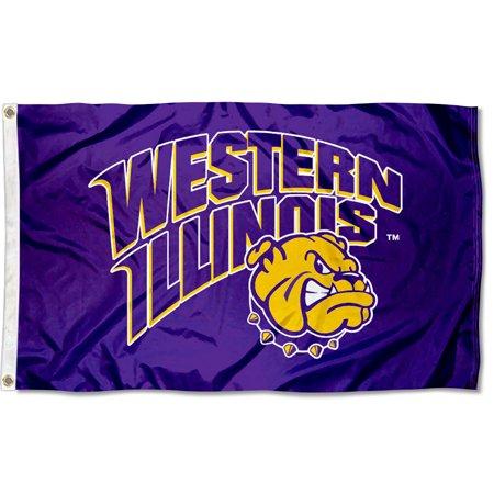 Western Illinois University Leathernecks Flag (University Large Flag)