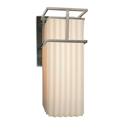 Justice Design Group Porcelina Structure 1 Light Outdoor Wall Sconce by Justice Design Group LLC