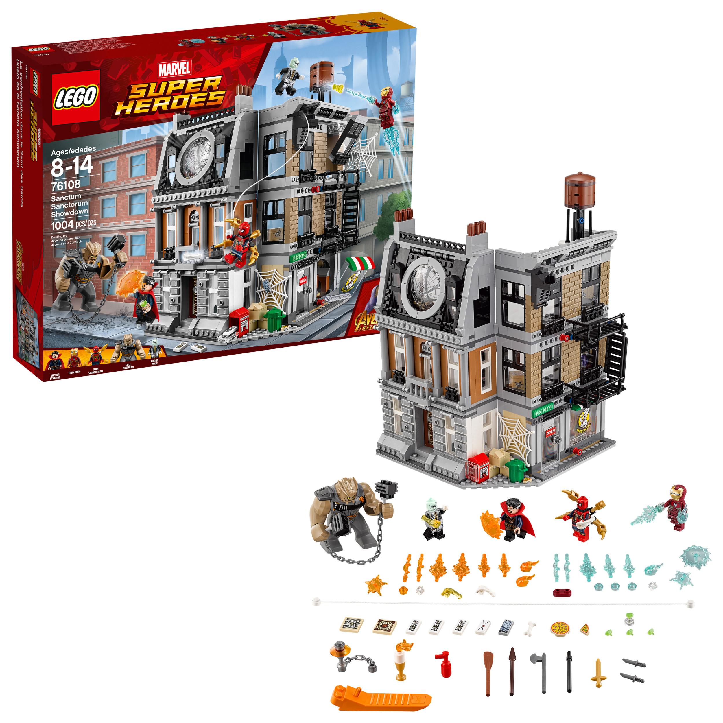 Lego Marvel Super Heroes Avengers Sanctum Sanctorum Showdown 76108 by LEGO System Inc