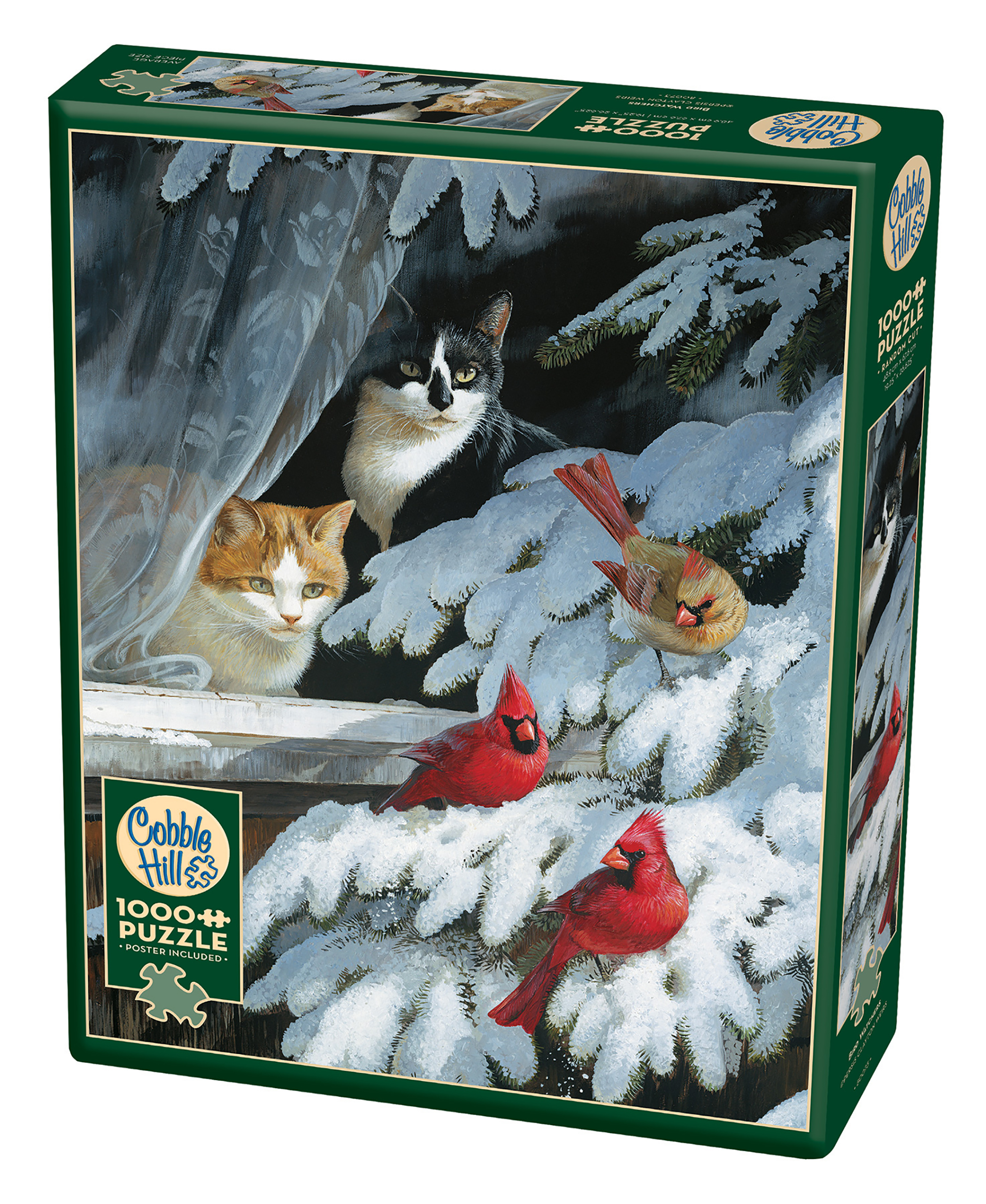 Cobble Hill: Bird Watchers 1000 Piece Jigsaw Puzzle by Outset Media