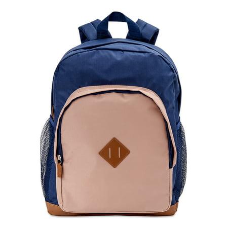 Wonder Nation Navy Color Block Backpack