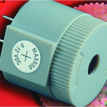89K7931 Mallory Mas800Q Transducer, Piezo, 2.7Khz, 130Db, 12Vdc