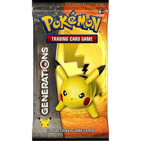 Pokemon Generations Booster Pack [1 Random Pack] ()