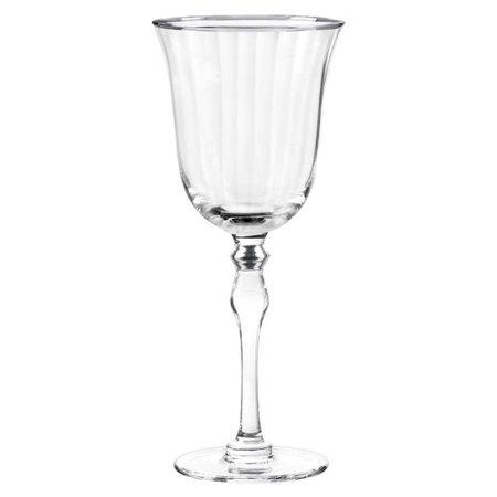 Qualia Glass Salem 8 Oz. Wine Goblet (Set of 4) - Halloween Decorated Wine Glasses