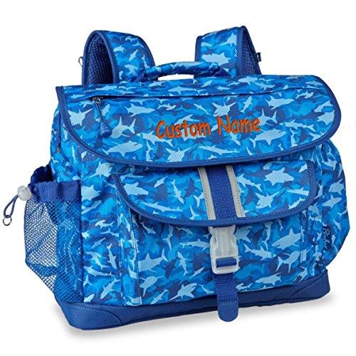 Personalized Bixbee Shark Camo Big Kids Backpack (Medium)