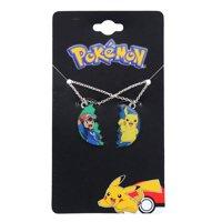 Pokemon Pikachu & Ash Ketchum BF Pendant Necklace