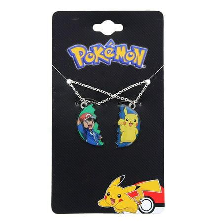 Ash Ketchum Female (Pokemon Pikachu & Ash Ketchum BF Pendant)