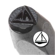 Sailboat Punch Stamp For Blanks 1/5 Inch 5mm (1)