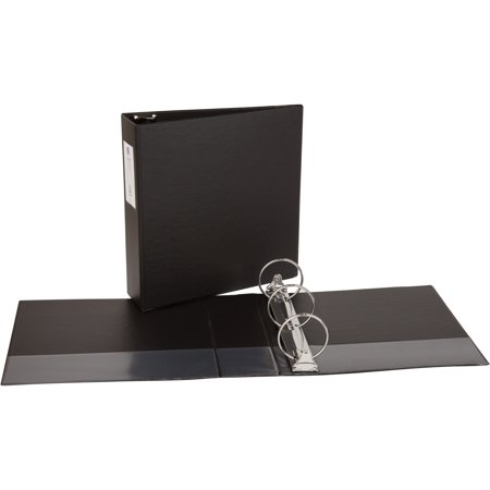 - Avery Economy Non-View Binder with Round Rings, 11 x 8 1/2, 3