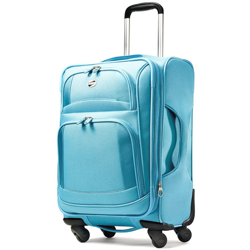 "American Tourister 21"" Spinner Carry On, Aqua Blue"